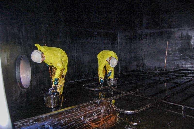 fuel oil tanki temizleme - Yakıt Tankı Temizliği